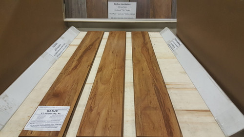 OLIVE 6 in. Wide x 1/2 inch Thick Engineered UNICLIC Hardwood Flooring