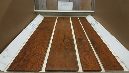 "ASHLAND HICKORY  6"" W x 1/2"" T Engineered UNICLIC Hardwood Flooring"