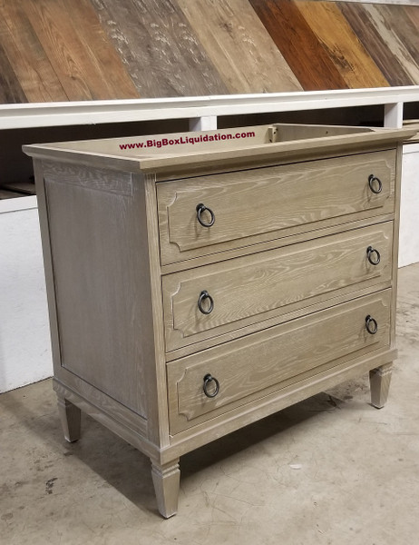 Solid Wood Ann Stained Weathered Gray 30 in. x 22 in., All Drawers Slow Close, Fully Assembled, Bath Vanity Cabinet Only  Pallet Shipping to Your Location Available, 615-800-1646