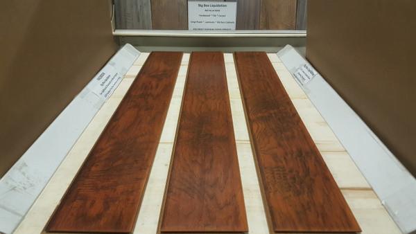 SUNRISE HICKORY 7 in. Wide x 1/2 inch Thick Engineered UNICLIC Hardwood Flooring