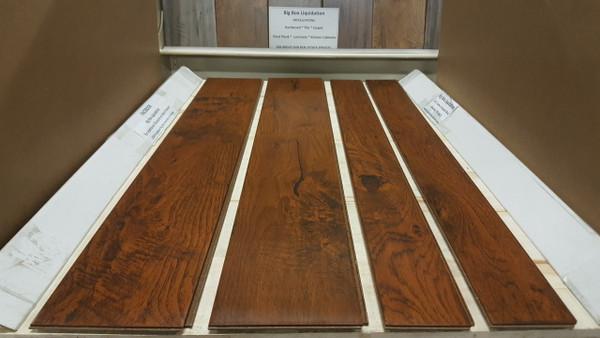 """ASHLAND HICKORY  6"""" W x 1/2"""" T Engineered UNICLIC Hardwood Flooring"""