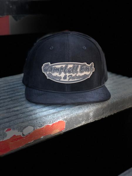 Campbell Ent Black Corduroy Hat
