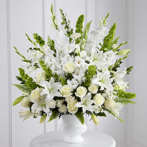 All White Sympathy Basket-FNFSB-15