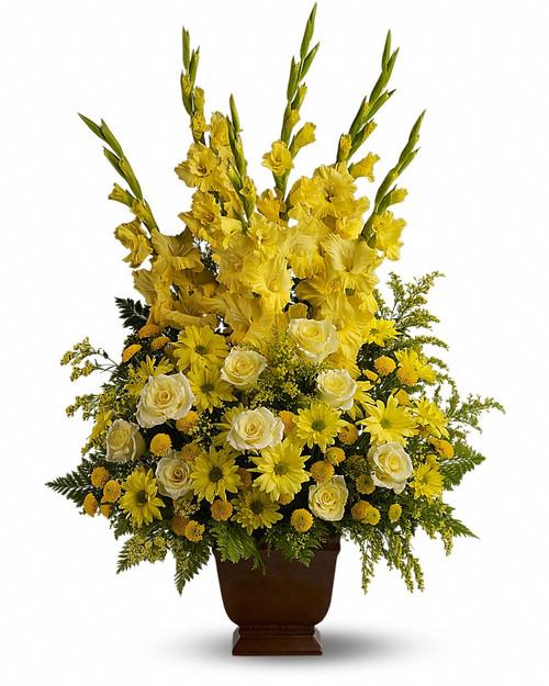 Classic Yellow Sympathy Basket-FNFSB-22