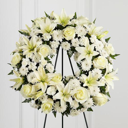 All White Wreath-FNFSW-01