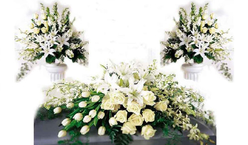 All White 3pc Tributes Package-FNARP-03