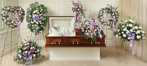 The Lavender and White Tributes Package-FNARP-06