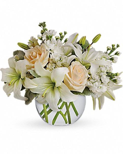 All White Bubble Vase-FNFHM-01