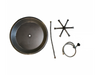 "20"" Round Fire Pit Kit w/ AWEIS and Optional Lid"