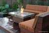 Balboa Fire Pit Table - 48 x 36 - Chat Height