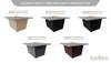 Hilltop Grey Powdercoat Top - Base Color Configurations