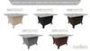 Hilltop Grey Powdercoat Top & Base Color Configurations