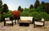 Santa Barbara Rectangular Fire Pit Table - 40 x 30