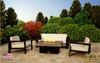 "COOKE Santa Barbara Rectangular Fire Pit Table - 40"" x 30"" - Lounge Height"