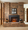 """Outdoor Greatroom - 42"""" Insert Surround 29"""" Electric Fireplace Insert"""