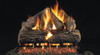 "American Fyre Designs - Charred Oak (Vented) Log Sets for Fireplaces - Size 30"""