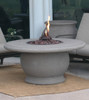 American Fyre Designs - Amphora Firetable With Concrete Top  - Chat Height