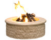 American Fyre Designs Chiseled Fire Pit