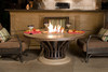 American Fyre Designs - Fiesta Round Firetable - Dining Height