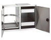 Fire Magic - Legacy Double Doors with Dual Drawers & Trash Tray