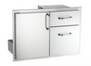 "AOG 18"" x 30"" Storage Door with Double Drawer"