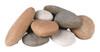 Assorted River Rock Fyre Stones- 10 piece