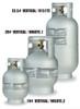 Manchester Tank ACME/OPD Vertical Aluminum Marine Grade Cylinder - Multiple Size Options
