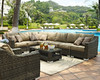 Evans Lane - Palmetto 7 Piece Sectional Sofa