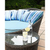 Evans Lane - South Beach Day Bed with Side Table