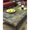 Evans Lane - Port Royal Cocktail Table with Slate Top