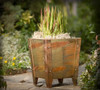 COOKE Parisan Planter w/ Copper Finish