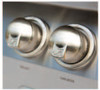 The all-new grill knobs have been redesigned with precision touch in mind.