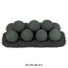 AFG - Matte Black Lite Stone Ball Set - Uniform