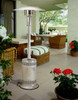 Patio Comfort PC02SS Stainless steel LP patio heater with push button ignition