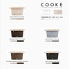 """COOKE Palisades 44"""" x 36"""" - Stone Top"""