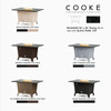 "COOKE Palisades 52"" x 36"" Dining Height - Stone Top"