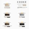 "COOKE Santa Barbara Fire Pit Table 55"" Diameter x 17"" - Stone Top"