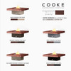 """COOKE Santa Barbara Fire Pit Table 48"""" x 48"""" x 17"""" - Hammered Copper Top"""