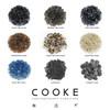"""COOKE Santa Barbara Fire Pit Table 48"""" Diameter x 21"""" - Black Pearl Granite Top"""