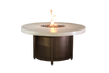 COOKE Colorado Fire Pit Table  55DIA Dining Height