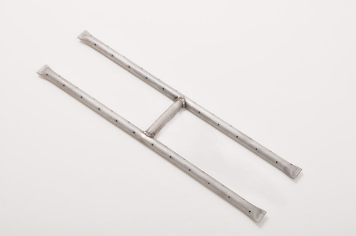 Rectangle Shaped Stainless Steel H Burner for Fire Pit (multiple sizes)
