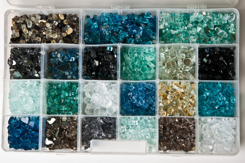 Fire Glass Samples