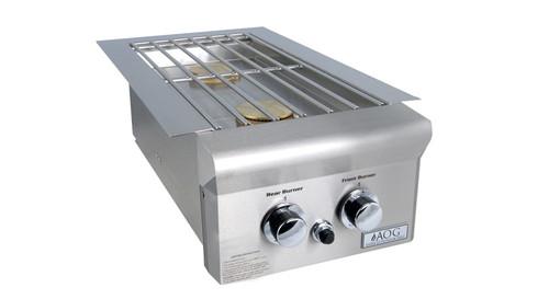 AOG Built-In Double Side burner 25,000 BTU's