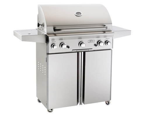 "American Outdoor Grill 30"" Portable Gas Grill (Optional Rotisserie and Side Burner)"