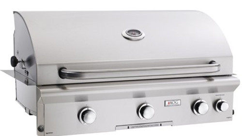 "AOG - 36"" Built-In Gas Grill 36NBL (Optional Rotisserie System)"