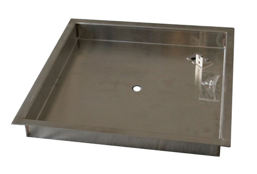 """17"""" Square Pan (Stainless)"""