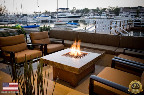 Fire Pit Table | Propane and Gas | Balboa style