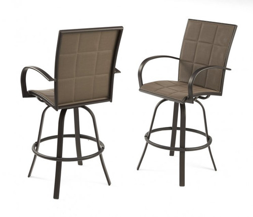 Outdoor Greatroom - Empire Barstools - Set of 2
