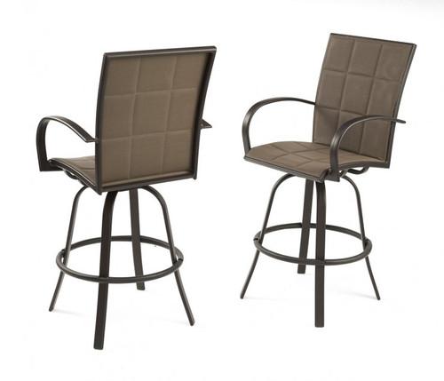 Outdoor Greatroom - Empire Barstools - Set of 2