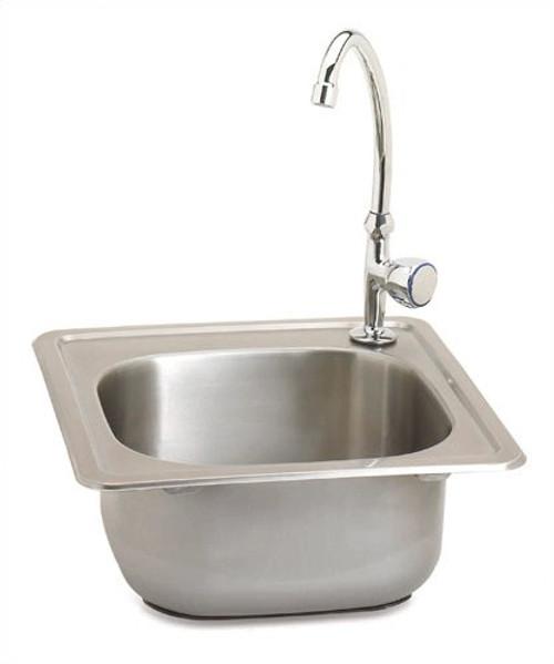 Outdoor Greatroom - Outdoor Sink with Single Faucet